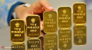 Harga Emas Antam Menurun ke Rp621.000/Gram