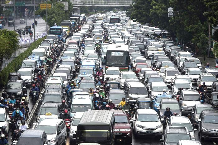 Zipjet : Jakarta Peringkat 18 Kota Paling Stress Dunia
