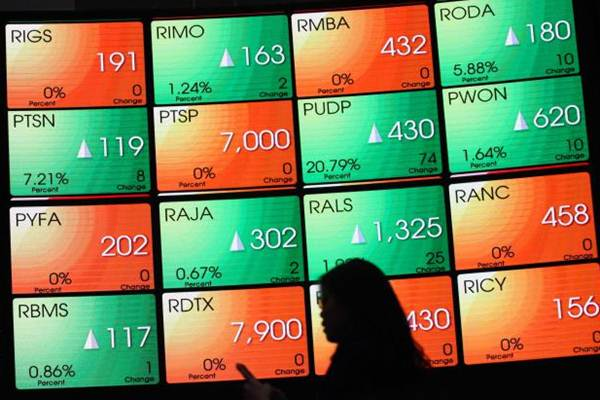 Pekan Lalu, Indeks Harga Saham Gabungan Turun 0,39%