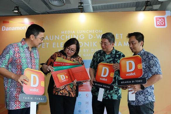 Bekerjasama dengan DOKU, Bank Danamon Hadirkan Layanan D-Wallet
