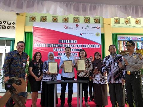 Galeri Investasi Pasar BEI Diresmikan di Kalimantan Timur