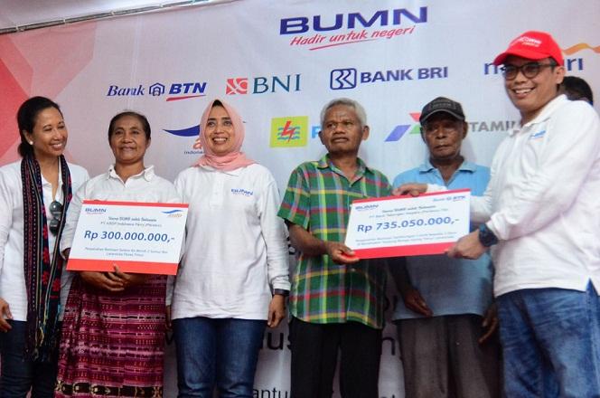 Bank BTN Dukung Program Elektrifikasi 305 Rumah di Larantuka