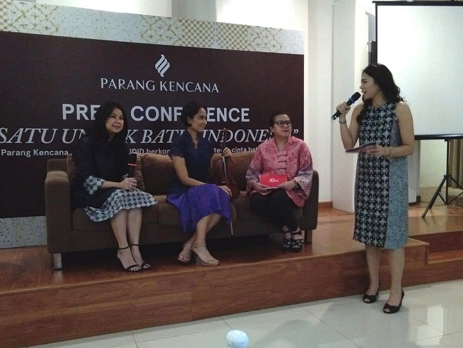 Parang Kencana Bermitra dengan Maylaffayza, JD.ID untuk Terus Dukung Batik Indonesia