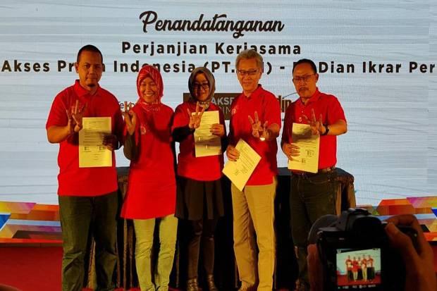 Gandeng Agung Podomoro Group, Usaha API-Telkom Tingkatkan Layanan Indihome