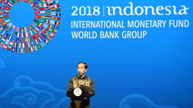 KTT IMF-Bank Dunia: Jokowi Serukan 'Sentuhan Ringan' di Sektor Keuangan